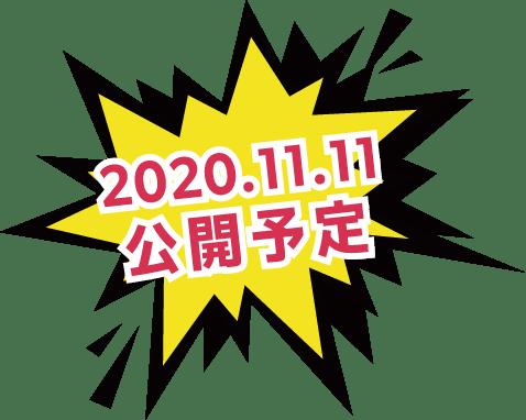 2020年11月11日公開予定