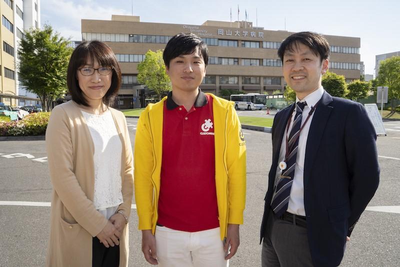 写真右から、江端様・アールスリー和田・櫻井様