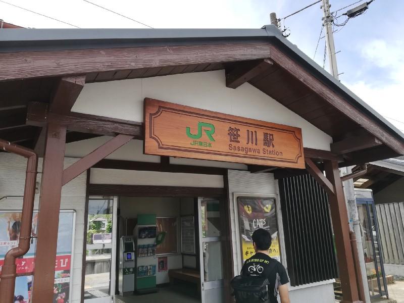 笹川駅周辺は東庄(とうのしょう)町というところで、いちご狩りや豚肉料理が名物だそうです。
