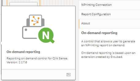 Nprinting on-demand reporting