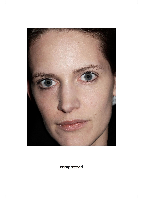 Close up face of woman.
