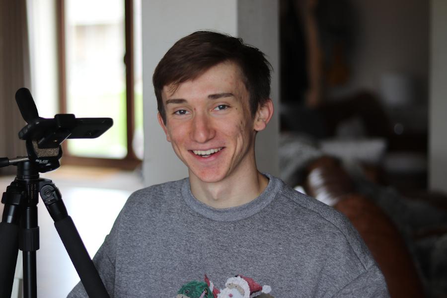 Jacob number 2 smiling