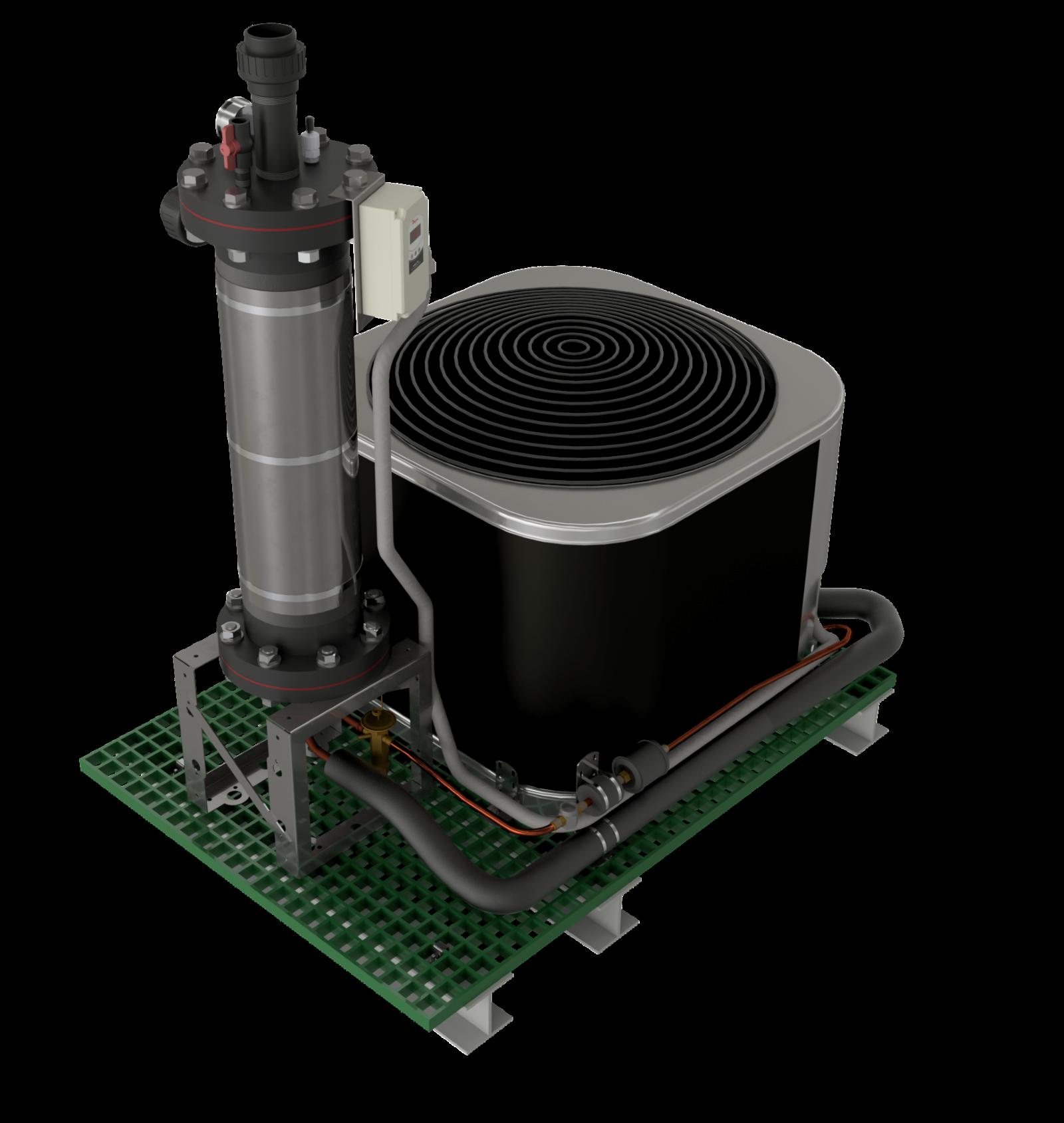 5 ton Commercial Chillers & Heat Pumps