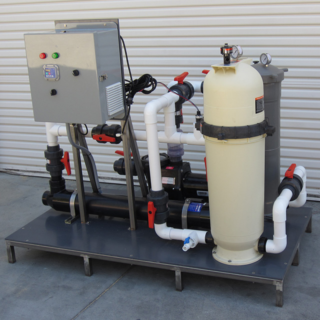 Integrated Filtration System with control unit