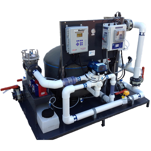 Integrated Filtration System with media filter