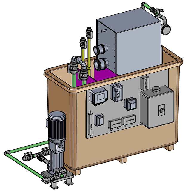 Integrated Filtration Module Drawing