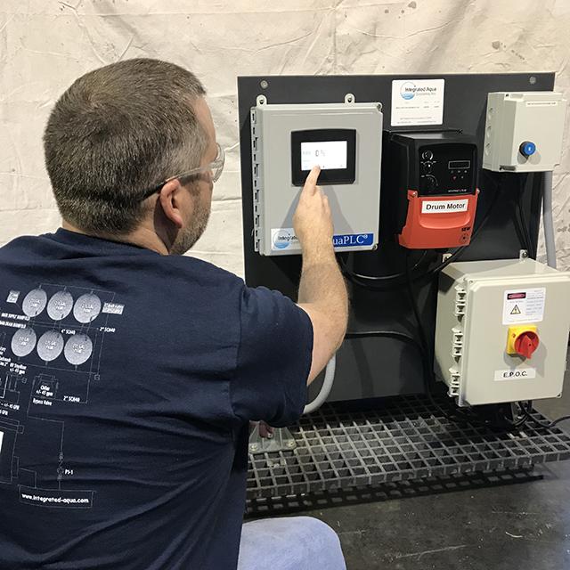 Programing Drum Filter Control System
