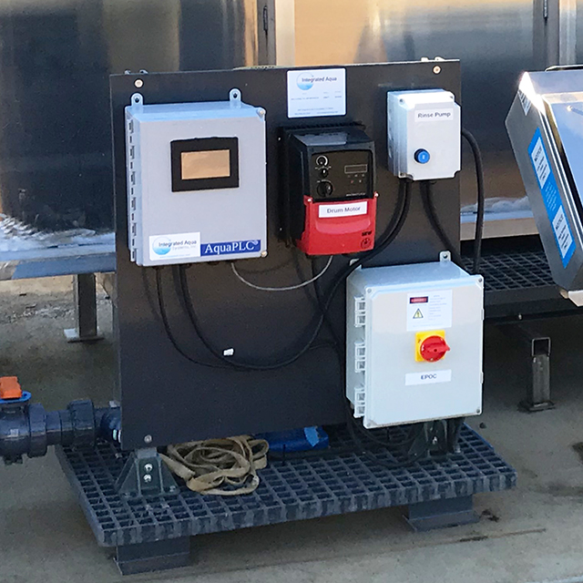IAS Drum Filter Control System