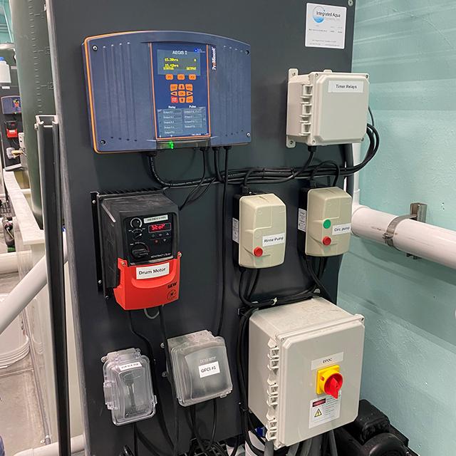 AEGIS II Drum Filter Control System