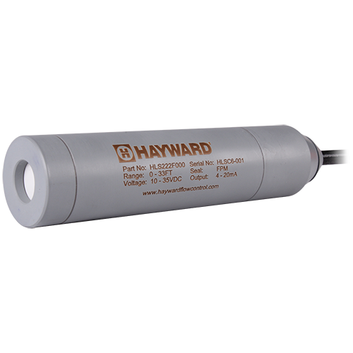 The HLS series submersible level sensor employs advanced sensor technology to ensure highly accurate and repeatable measurements in a wide range of corrosive liquid applications including saltwater. Sensor comes standard with 30ft cable, EPDM seals and is rated to a depth of 15 ft.