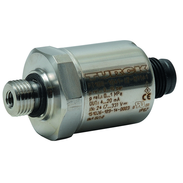 Our inline PT pressure transducer is ideal for accurate measurement of water level or pressure in a system and specially suited to aquatic life support systems. These high-quality and compact sensor-transmitters are feature saltwater resistance with 316 stainless steel wetted parts, 4-20mA output signal and NEMA4X cables. Models available in scale ranges 0-100 inches and 0-30 psi to fit a wide range of aquatic system applications including drum filter level monitoring and constant pressure pumping systems. 10m Cable sold separately.