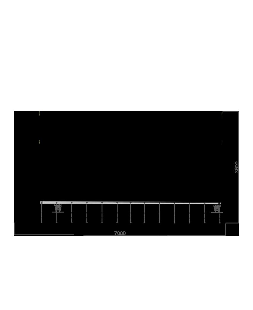Plano lateral de la tienda Pinsapar