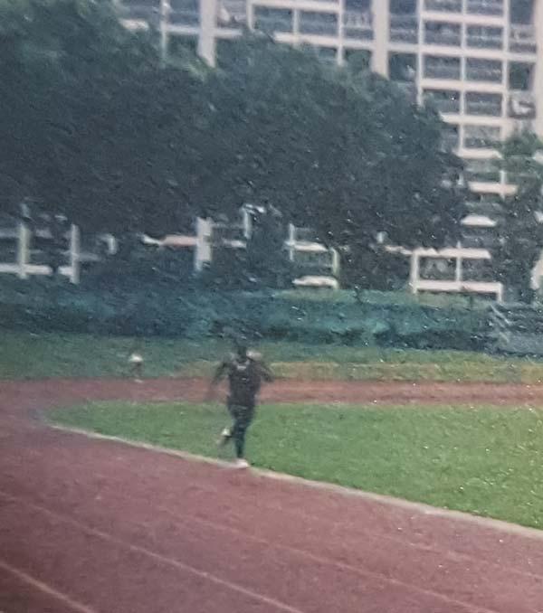 Aylwin Sprinter training