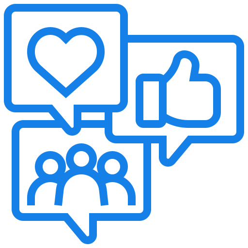 Social Media Icon For Virtual Events