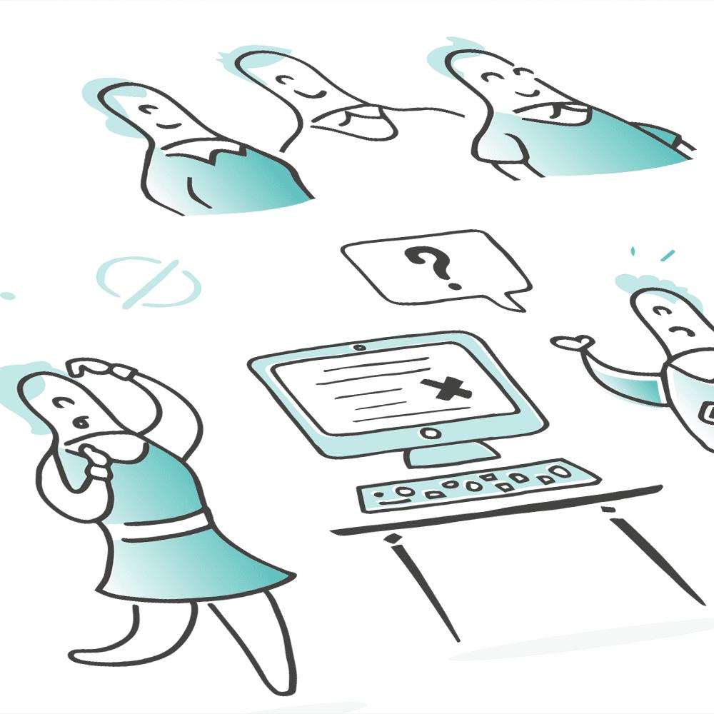 Bespoke character illustration design
