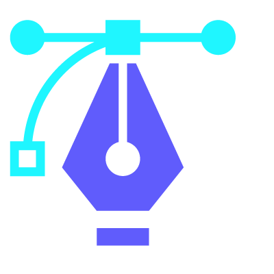 What We Do creative pen tool icon