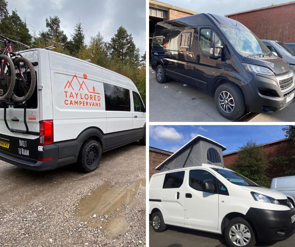 Choosing your base van for conversion