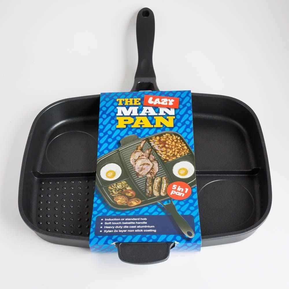 lazy man frying pan for camping
