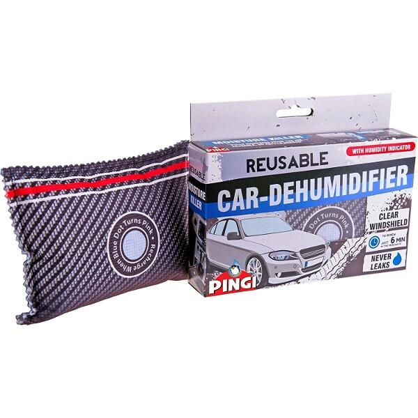 a packet of dehumidifer bags