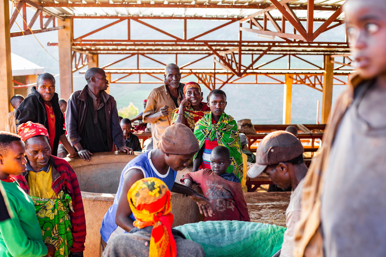 Transit center in Burundi