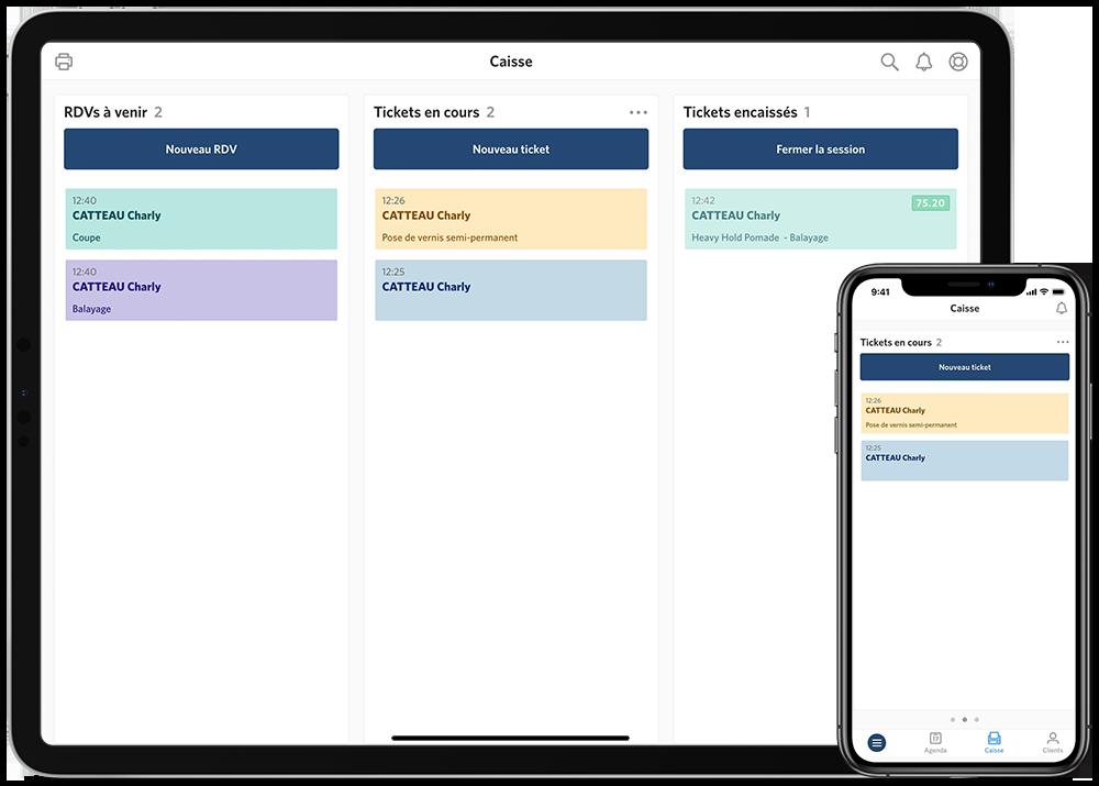 La aplicación de pago Wavy en el iPad y el iPhone