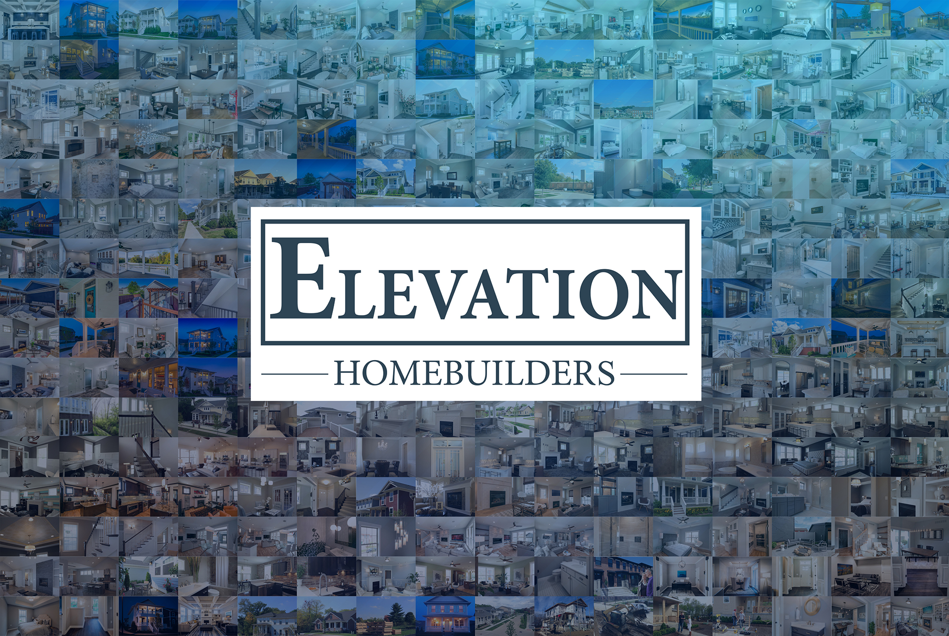 Elevation logo with preview of past projects