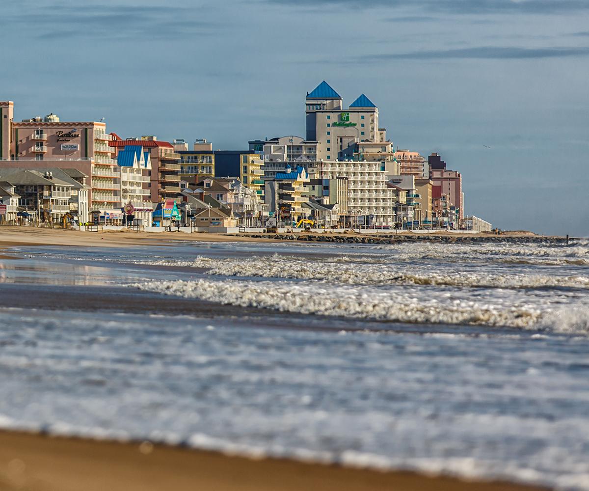 enjoying the ocean city maryland skyline
