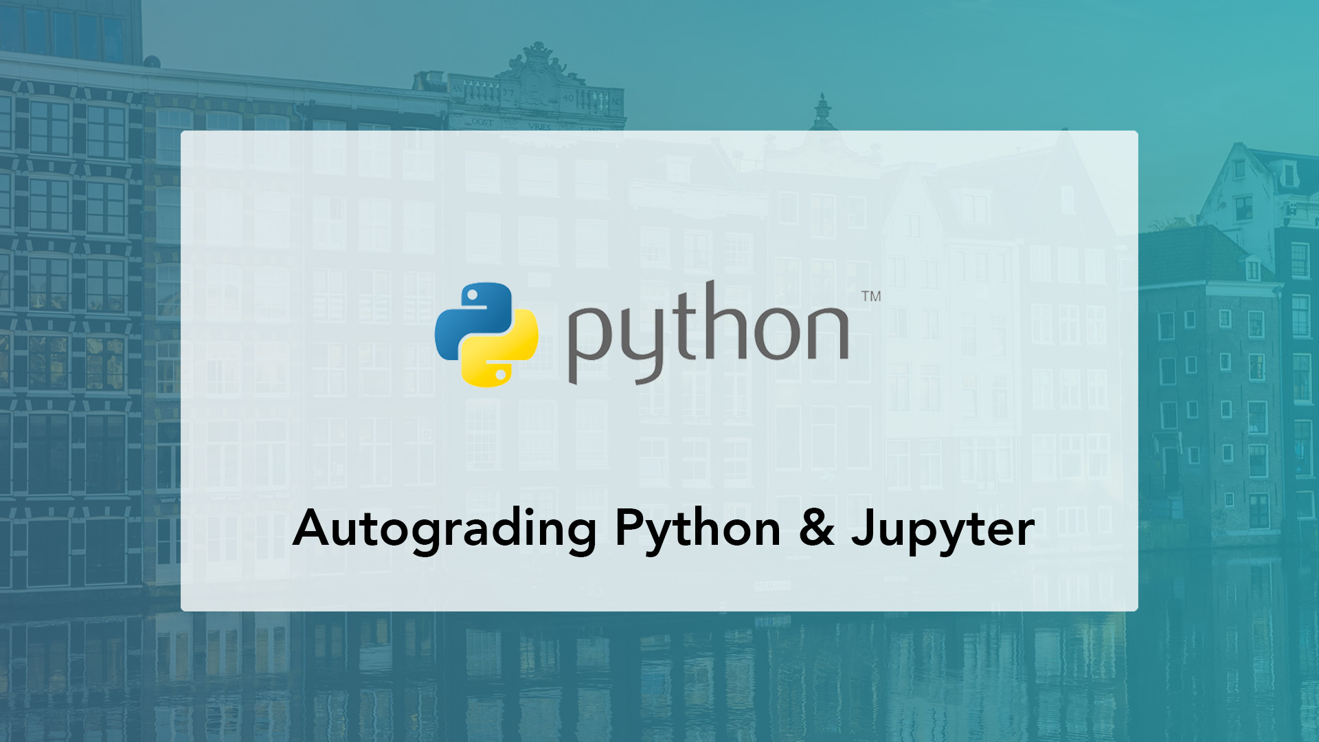 Grading Python code and Jupyter Notebooks automatically