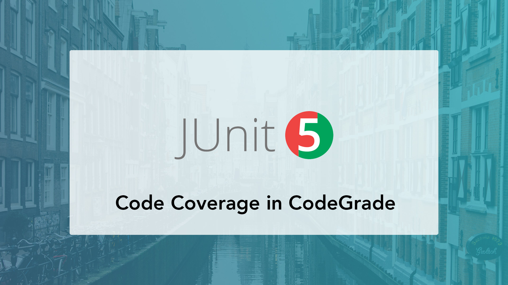 Grading JUnit 5 Java assignments using JaCoCo for computer science education