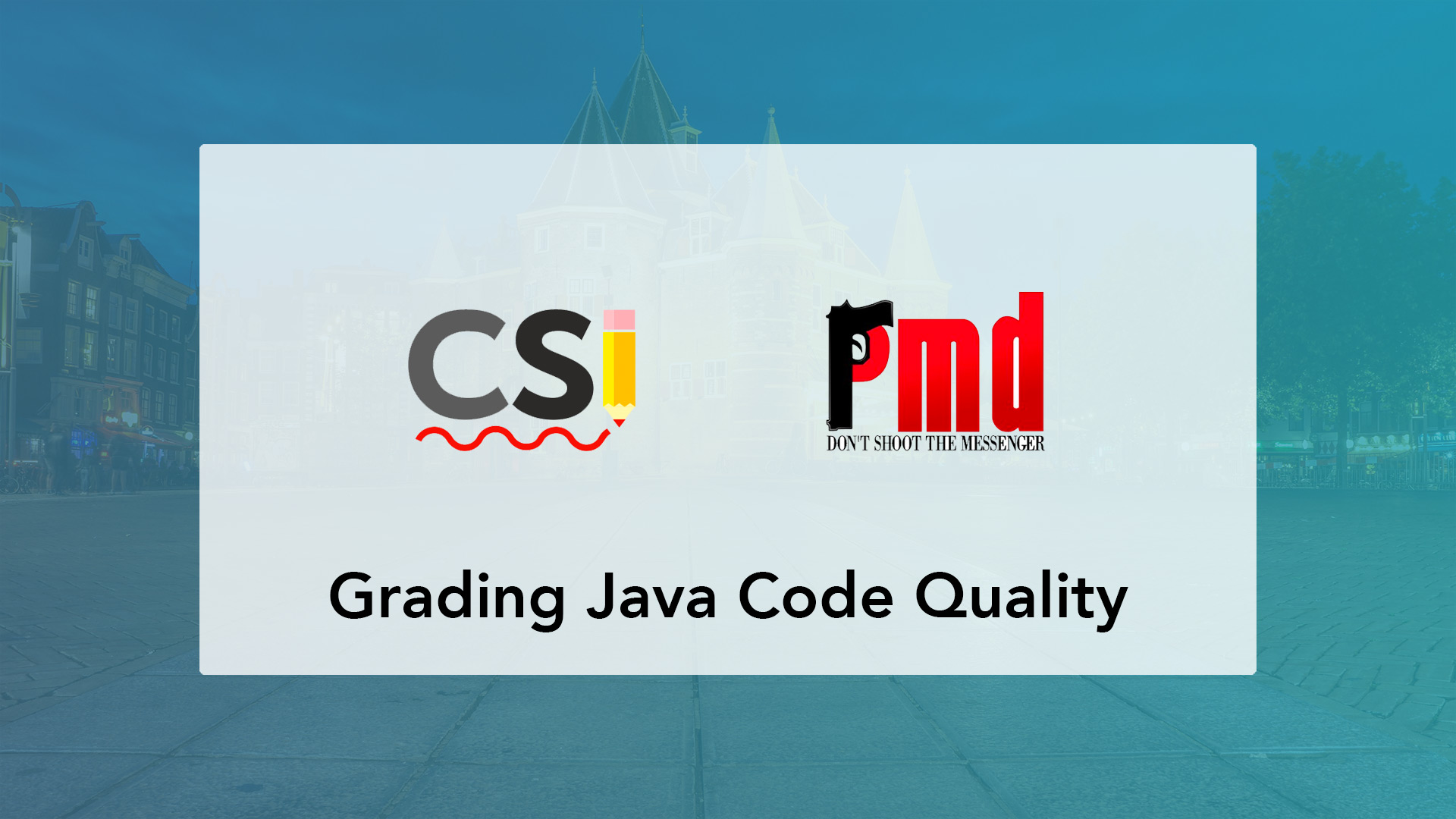Autograding Java code projects on code quality, code style and bad practices using Checkstyle and PMD