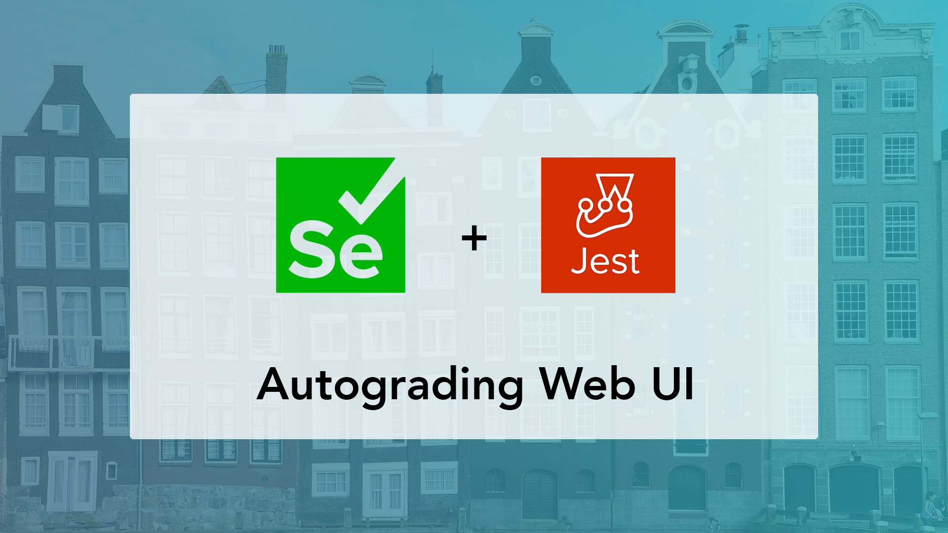 Use Selenium for webdev courses to autograde website UI and UX in CodeGrade