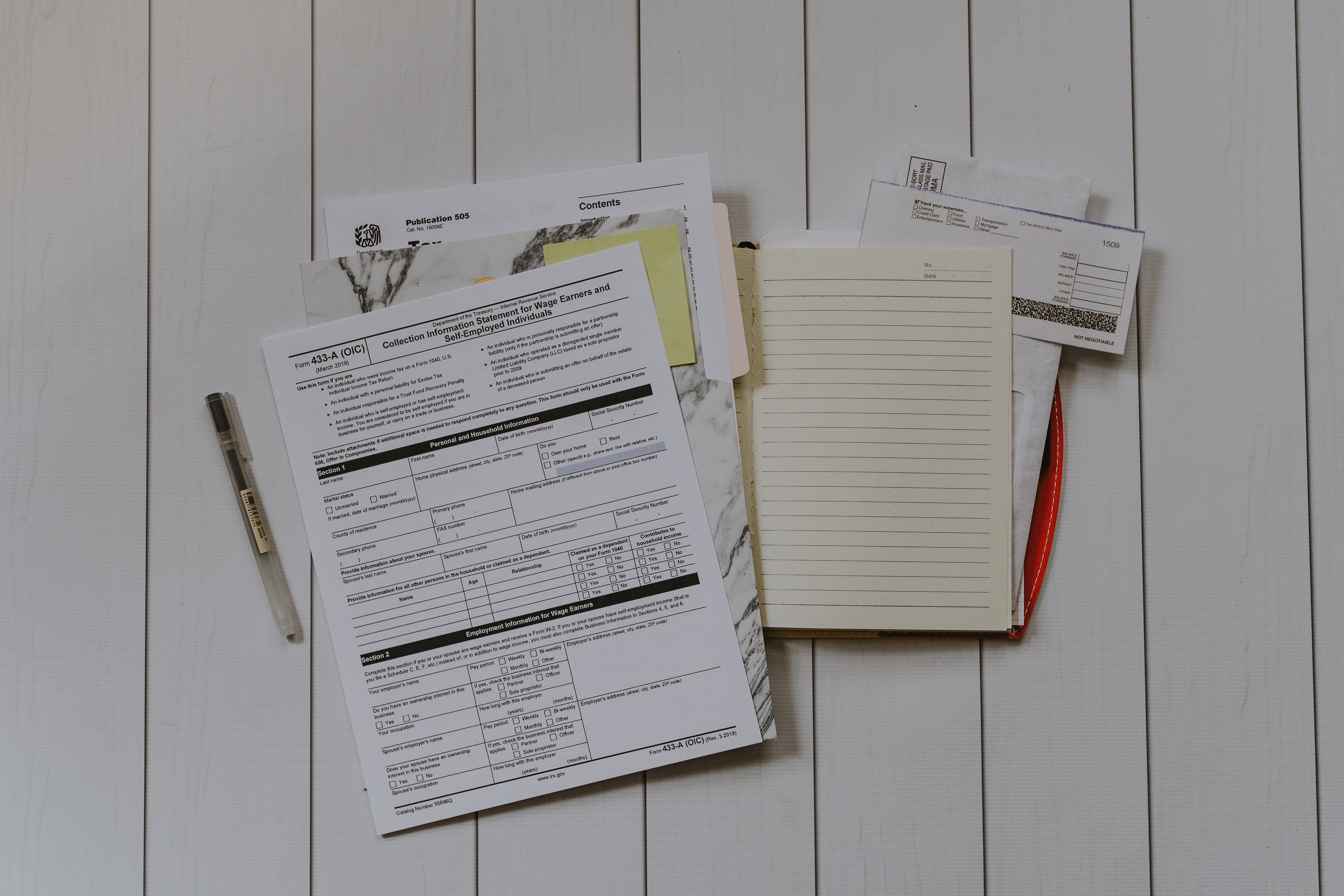 tax exemption files