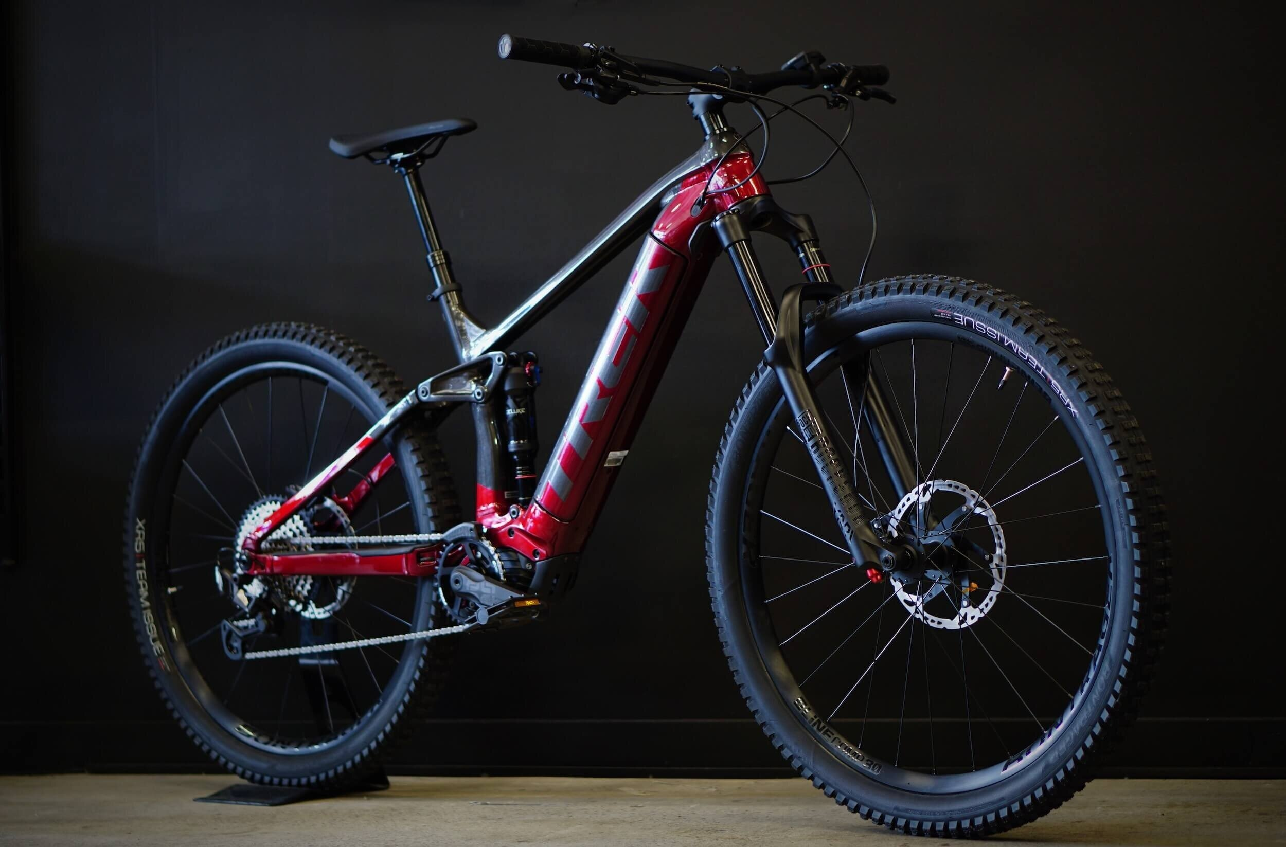 Trek eBike on display at CYCO bike shop