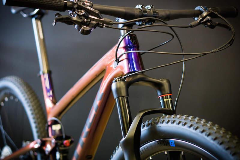 Top Fuel 9.9 displayed at bike service shop