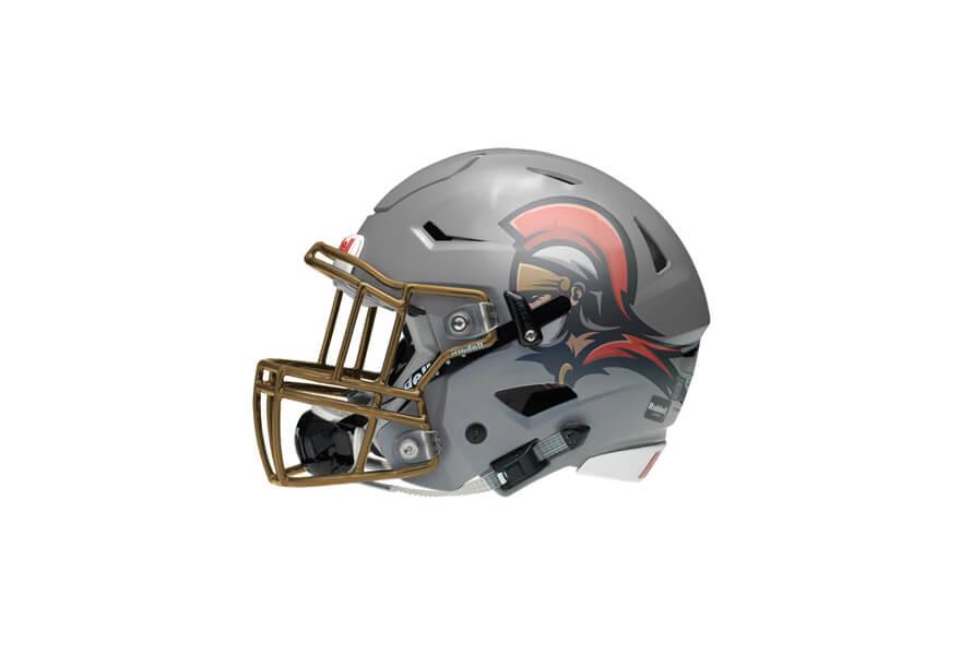 logo designer leicester - pecs legioners american football logo design uk