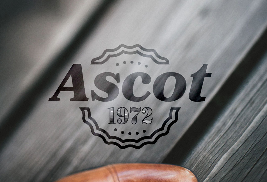 logo design uk - ascot logo design by a logo designer leicester