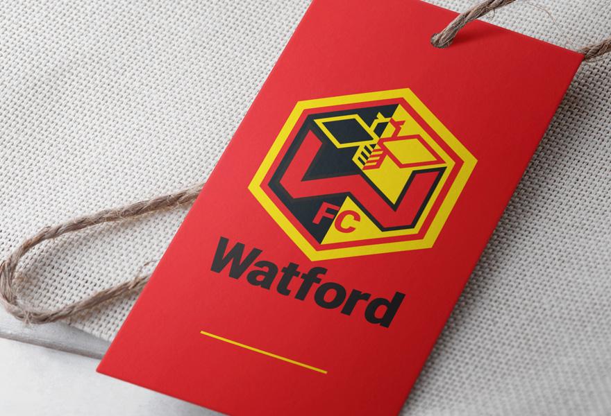 logo design uk - watford fc logo design concept by a logo designer leicester