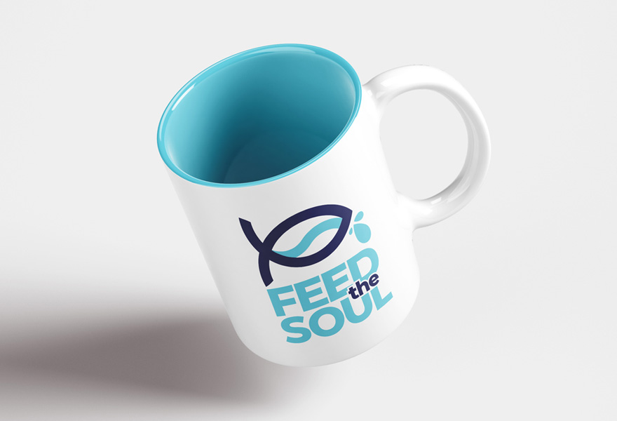 logo design uk - feed the soul logo design by a logo designer leicester
