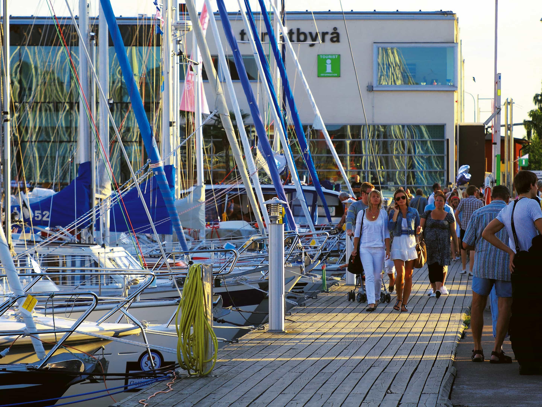 Upplev Båtlivet naturhamn