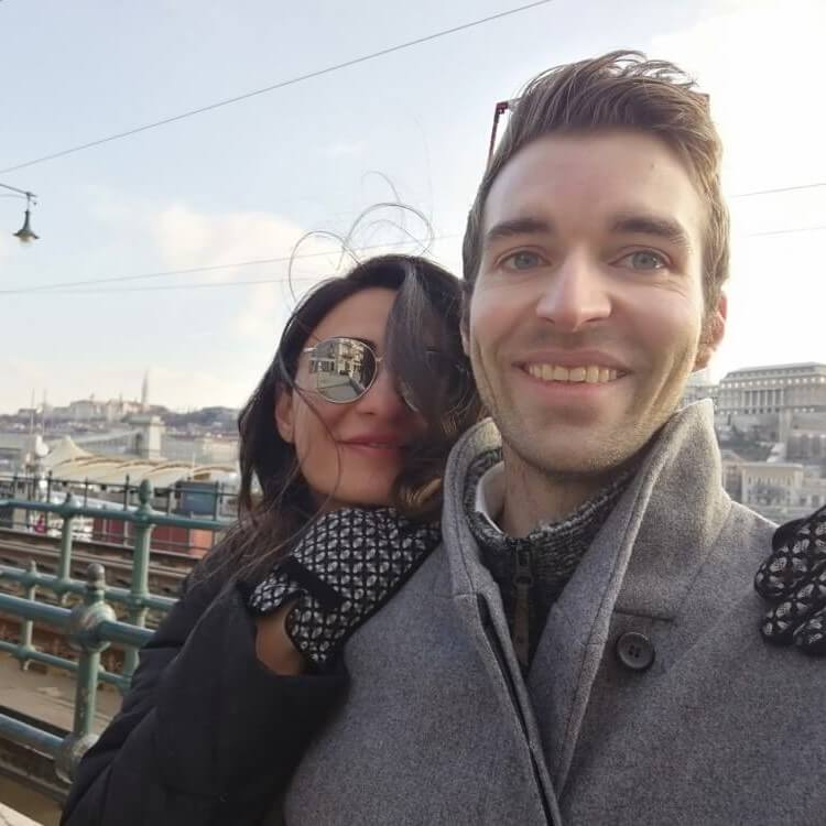 My gf and I in Budapest