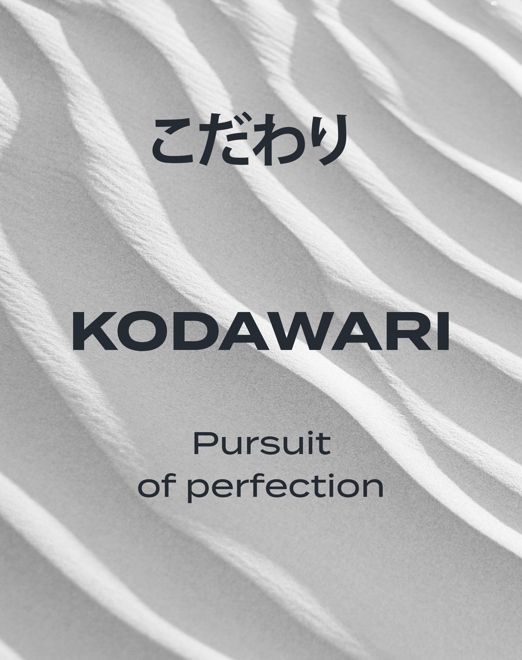 Crafted in Japan, where skincare has been a tradition