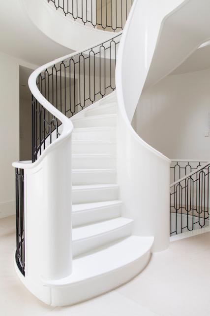 Licht Interieur ontwerp trap