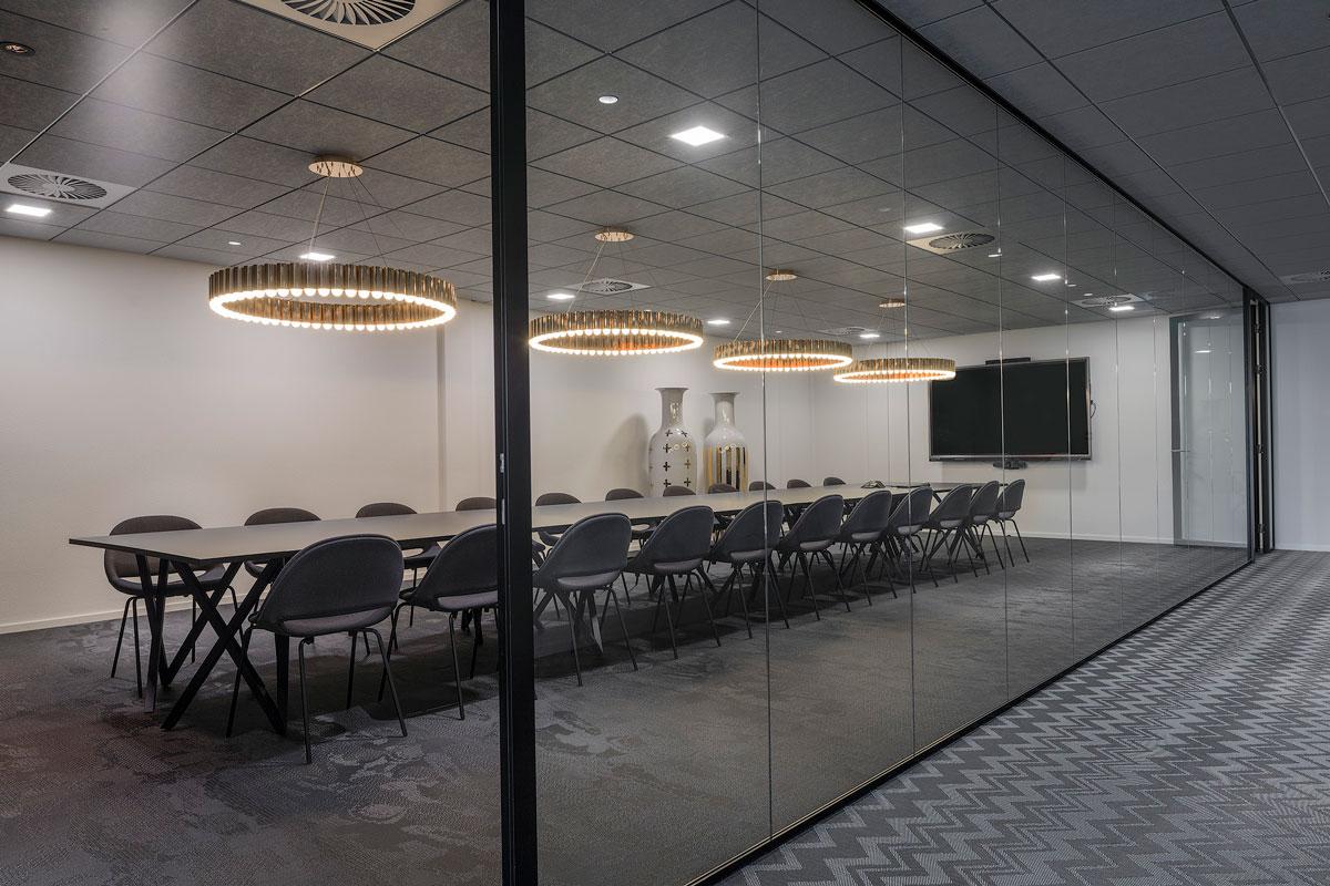Interieur ontwerp vergaderruimte