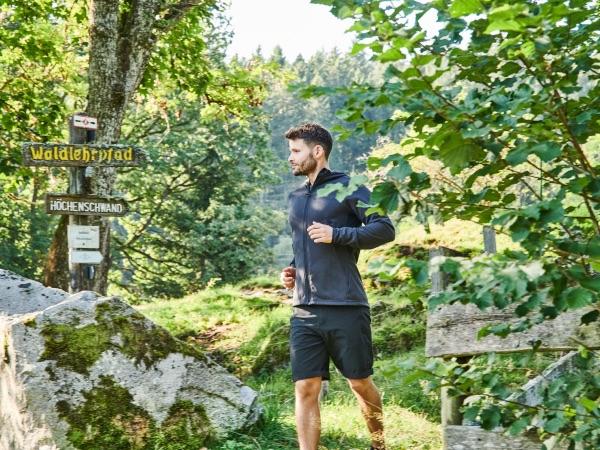 Fitnesstraining im Wald