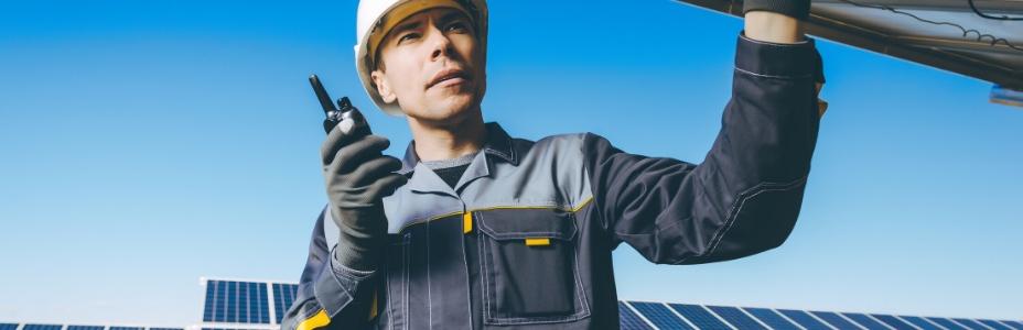 ingegnere nel mercato solare