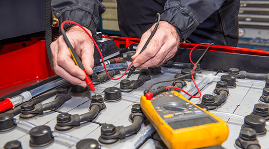 Battery renewal by studying the condition of each batch battery
