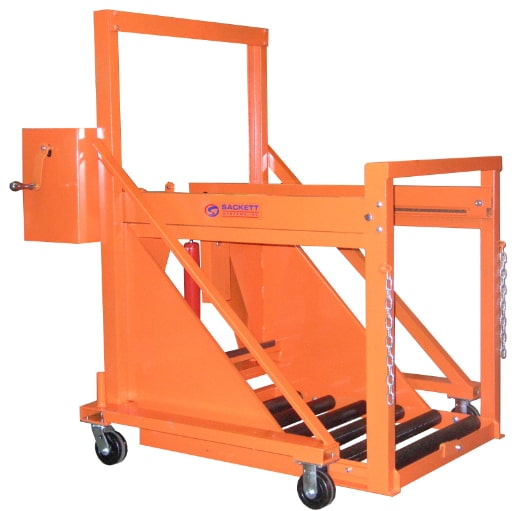 Manual battery exchangers