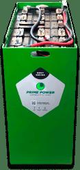 Batería placa plana