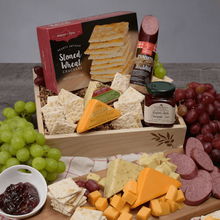 Gourmet Meat and Cheese