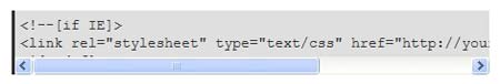 Internet Explorer Overflow Bug Scrollbar Issue
